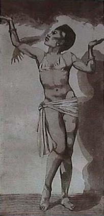 Termen's wife Lavinia Williams.