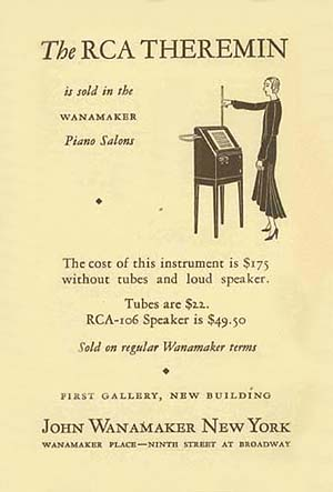 1929 Theremin Advertising