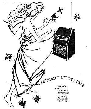Moog Theremin Advertising