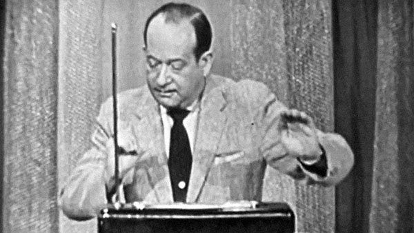 Theremin Player Samuel Hoffman