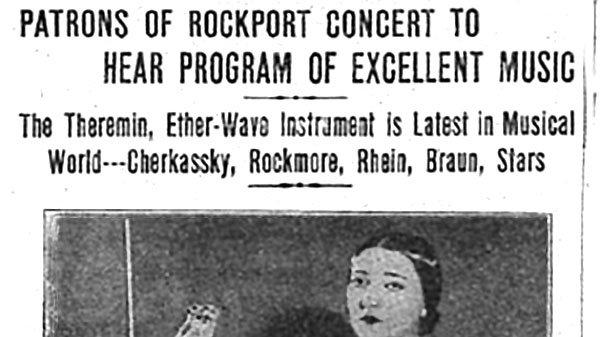 Clara Rockmore Rockport Concert