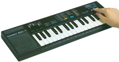 Casio SK-1 keyboard sampler