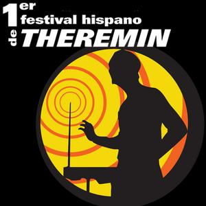"Logo of the ""Primer Festival Hispano de Theremin."""