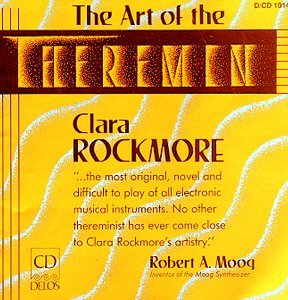 "Cover fo Clara Rockmore's CD ""The Art of the Theremin"""