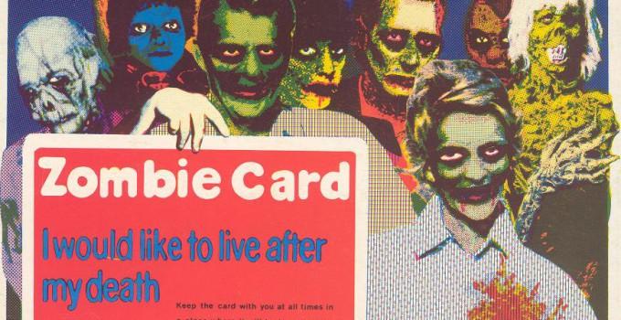 zombie postcard