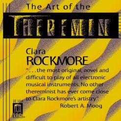 "Front cover of Clara Rockmore's ""The Art Of The Theremin"" CD"