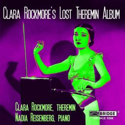 Cover art of Clara Rockmore's Lost Theremin Album CD