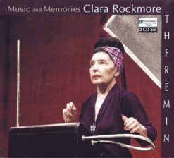 "Front cover of ""Music and Memories"" theremin album by Clara Rockmore"