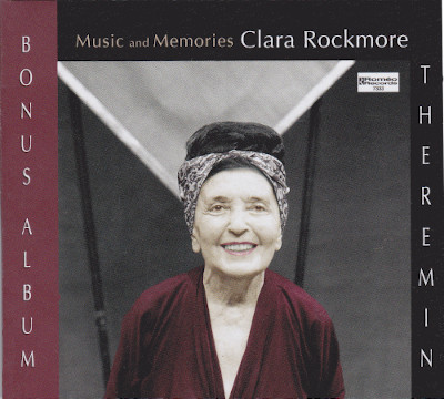"Front cover of ""Music and Memories Bonus Album"" by Clara Rockmore."