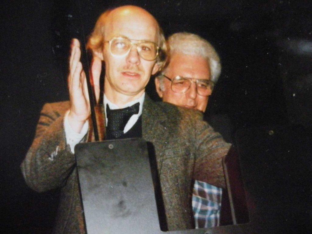 24 ER and Bob Moog at Cornell Univ