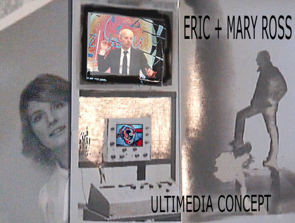 6 Eric and Mary Ross Ultimedia Concept Poster. Photo Mary Ross. 2010