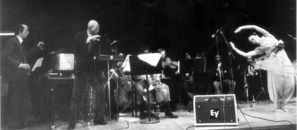 Eric Ross Live at Lincoln Center NYC Concerto Op.24 Photo by Mary Ross 1982